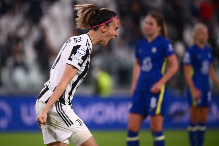 Barbara Bonansea scored a fine Juventus goal