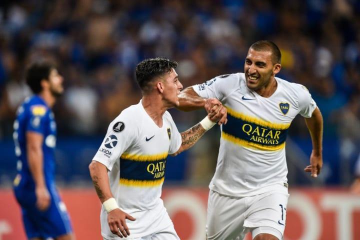 Cristian Pavon Abila Cruzeiro Boca Juniors Libertadores 2018
