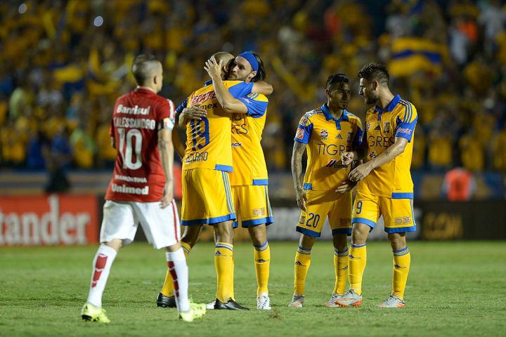 Internacional Tigres Eliminação Libertadores 2015