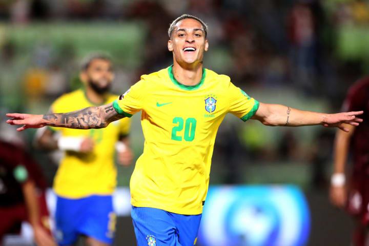 Antony, atacante da seleção brasileira