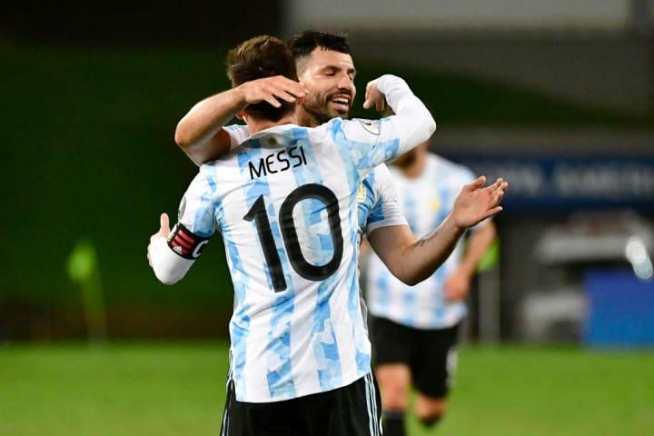 Sergio Agüero, Lionel Messi