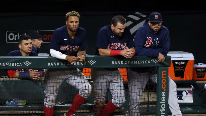 The Red Sox have struggled all season