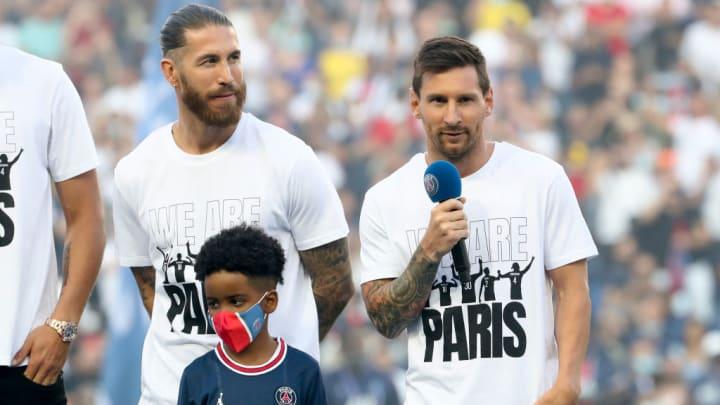 Lionel Messi, Leo Messi, Sergio Ramos