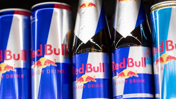 Red Bull bottles
