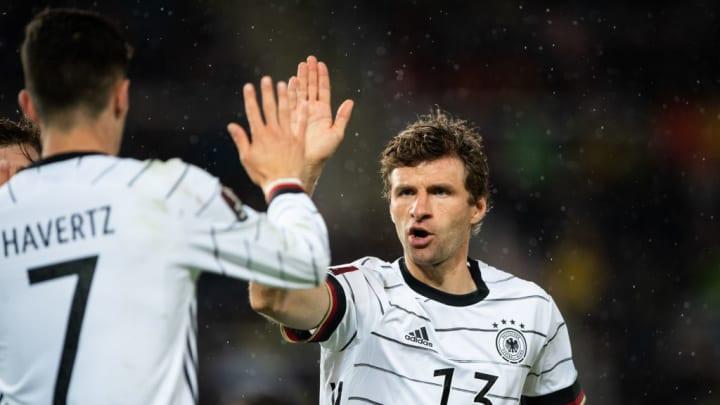 Kai Havertz Thomas Mueller Hansi Flick Copa do Mundo Mundial 2022