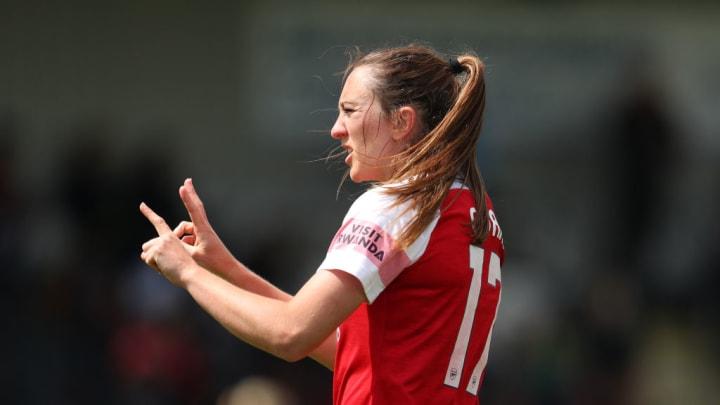 Lisa Evans Arsenal  Champions League Feminina