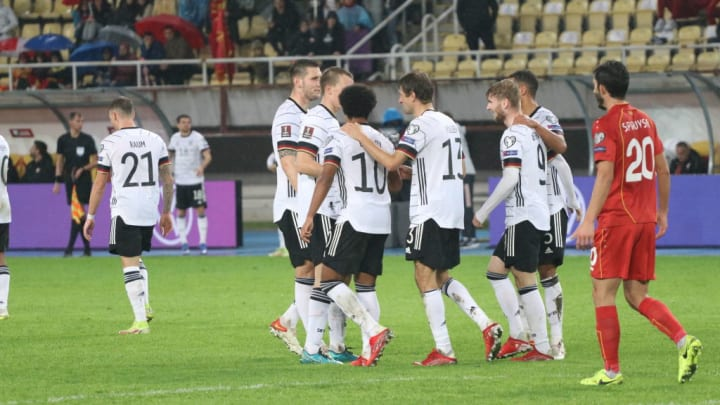 North Macedonia v Germany - 2022 FIFA World Cup Qualifier