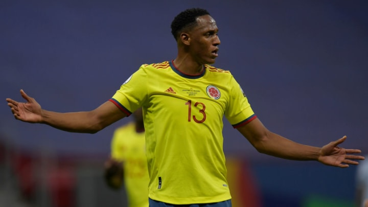 Yerry Mina is one of those chosen to repeat his role as a starter in the formation of Colombia against Ecuador