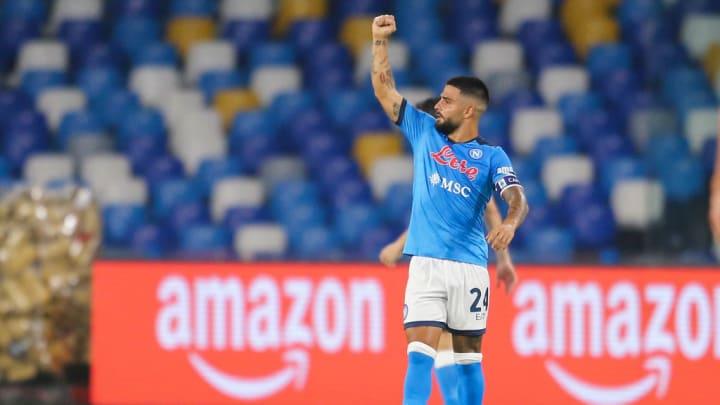Napoli Lorenzo Insigne Série A Inter de Milão Manchester United Renovação