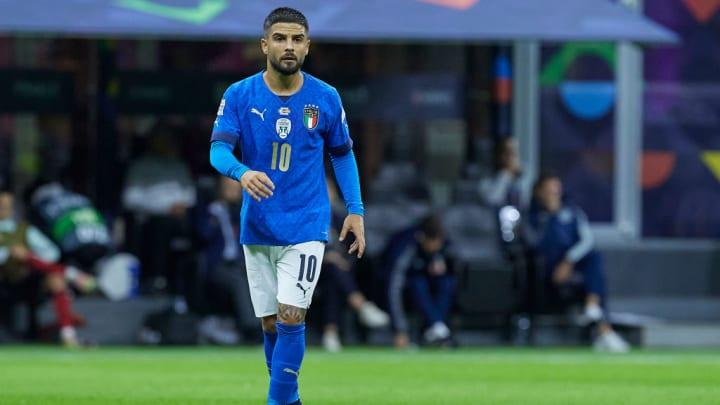 Lorenzo Insigne Nations League Itália Napoli Seleção Italiana Manchester United Inter de Milão