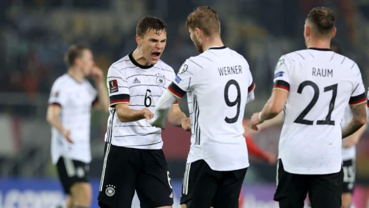 Timo Werner Joshua Kimmich Alemanha Copa do Mundo