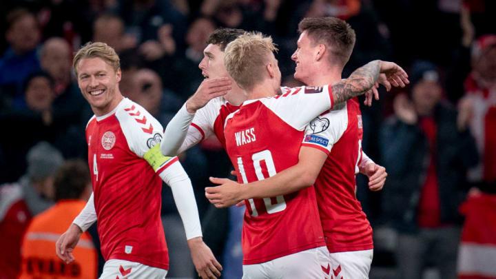 Dinamarca Eliminatórias Copa do Mundo 2022 Fifa Mundial Catar