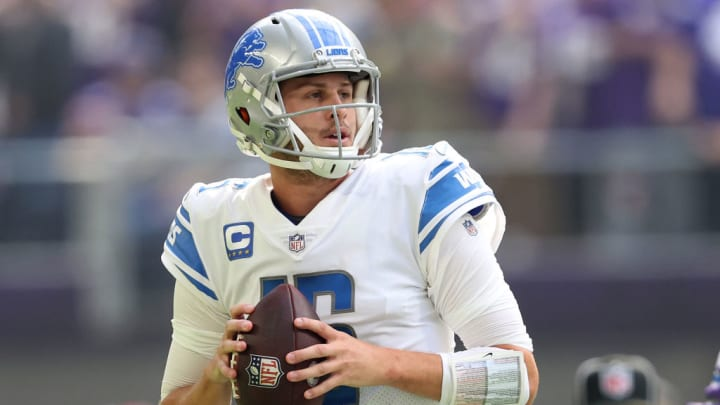 Jared Goff has been unable to find answers since joining the Lions offense.