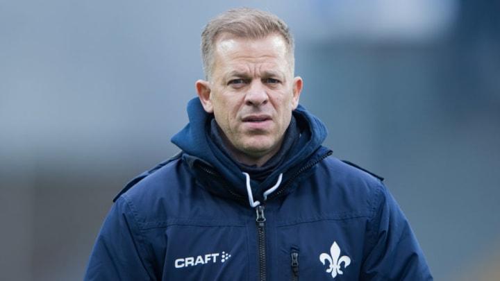 Markus Anfang als einstiger Trainer vom SV Darmstadt 98