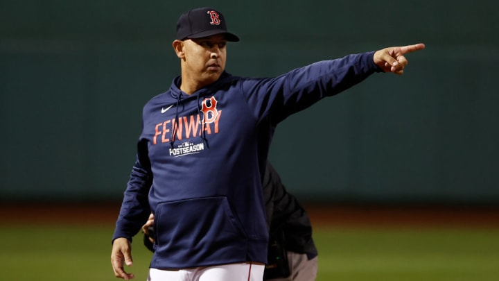 Alex Cora returned to the organization after a year
