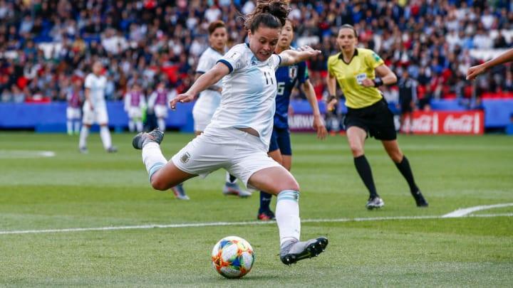 Florencia Bonsegundo, from Madrid CFF