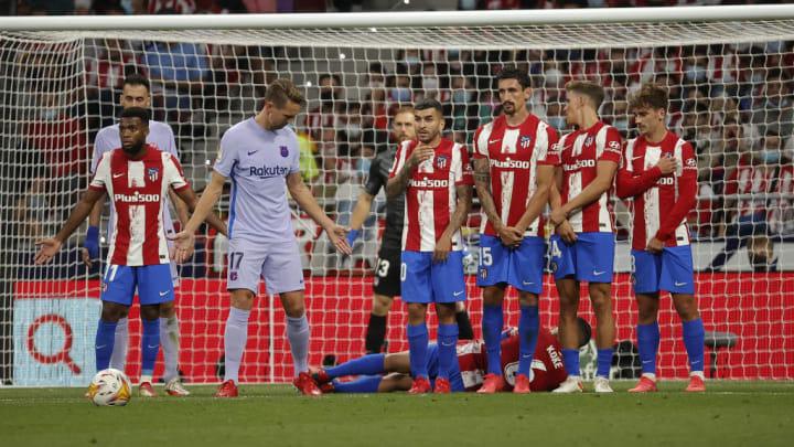 Atletico Madrid vs Barcelona: La Liga