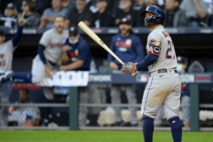 Little José Altuve's bat has contributed in good form to the Astros' campaign in the 2021 MLB playoffs