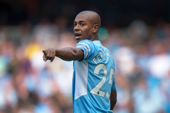 Fernandinho - Soccer Midfielder - Born 1985