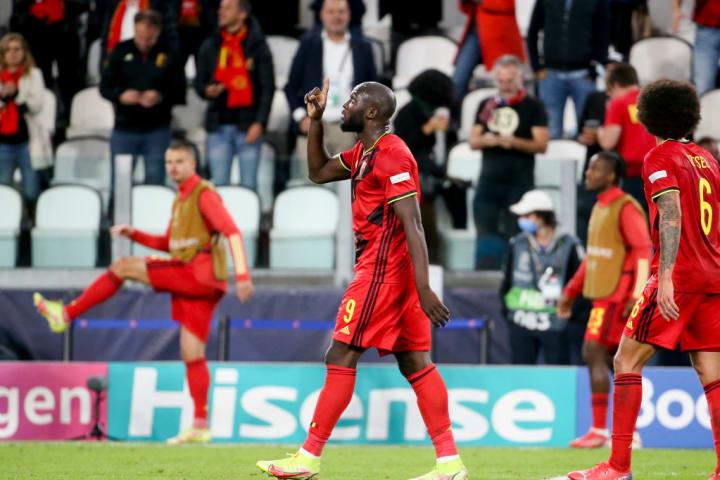 Romelu Lukaku, atacante da seleção da Bélgica