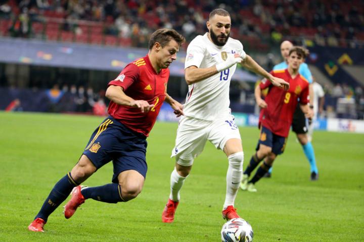 Cesar Azpilicueta, Karim Benzema
