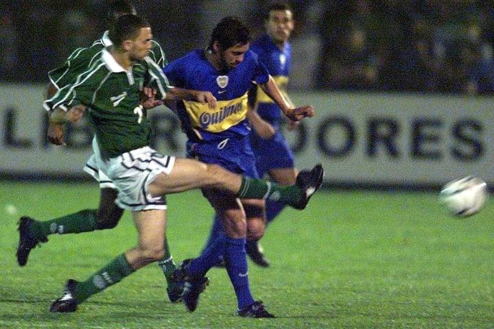 Palmeiras Libertadores Boca Juniors 2001 Eliminação