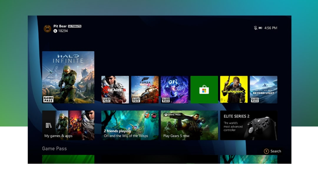 Microsoft's October update includes the additions of a natively rendered 4K dashboard on Xbox Series X consoles and night mode.