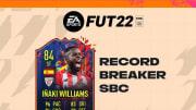 O atacante Iñaki Williams atua no futebol espanhol