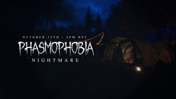 Phasmophobia's Nightmare update is set to launch on Monday, Oct. 25, 2021, at 11 a.m. ET.