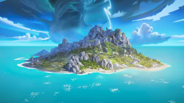 The Tropical Island map in Apex Legends