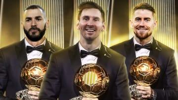 Benzema, Messi et Jorginho font figures de favoris au Ballon d'Or