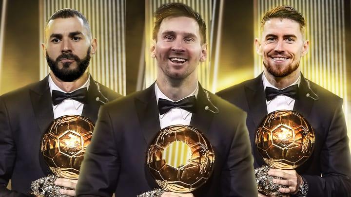 Le XI combiné des nommés au Ballon d'Or