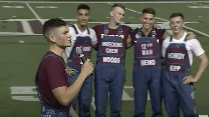 Texas A&M Yell Leaders