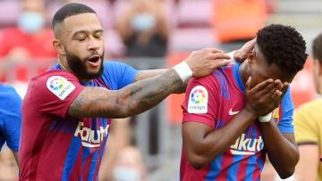 Depay y Ansu Fati están consolidándose en el Barça