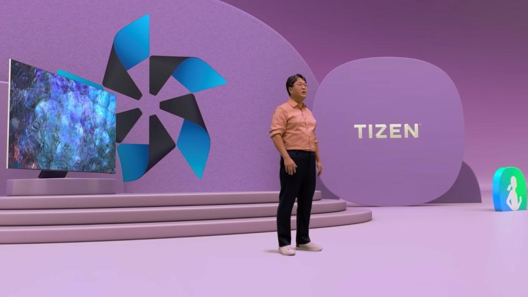 Yongjae Kim at Samsung Developer Conference 2021.