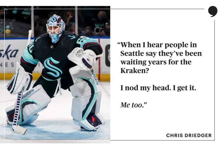 Chris Driedger   Seattle Kraken   The Players' Tribune