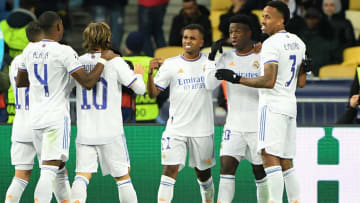 Real Madrid had reason to smile on Tuesday night