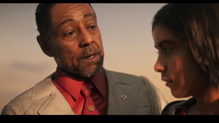 Anton Castillo and his son Diego in Far Cry 6
