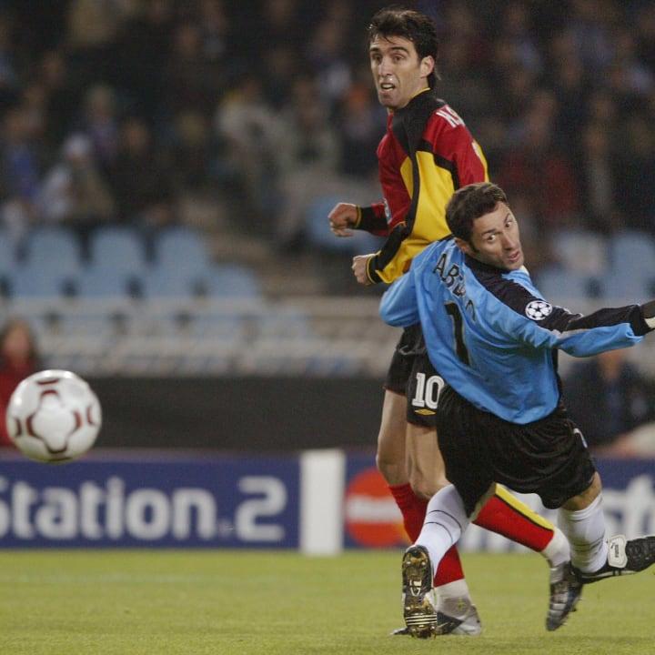 Real Sociedad's goalkeeper Alberto Lopez