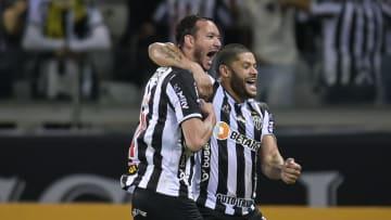 Réver anotou o segundo gol do Galo na goleada por 4 a 0