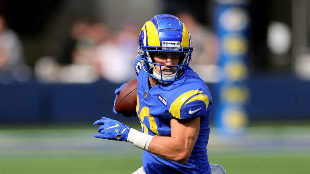 Los Angeles Rams wide receiver Cooper Kupp leads the league in receiving and is on pace to break Calvin Johnson's all-time NFL record.