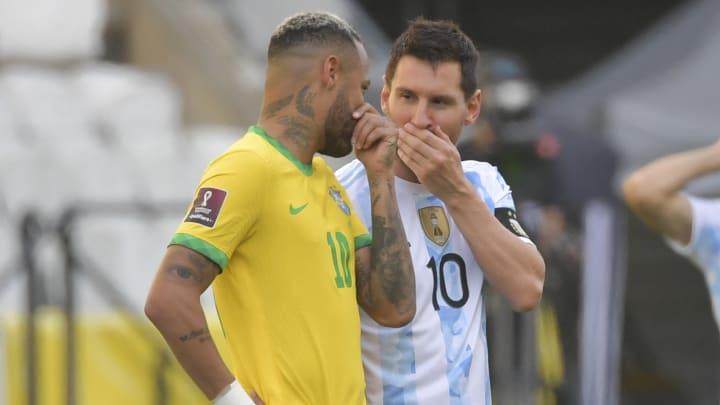 Messi y Ney