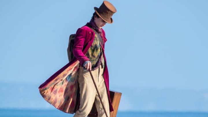 Filming Begins On The Set Of Wonka