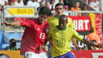 Ballack, Zé Roberto und Lucio waren nicht nur Rivalen in der Nationalmannschaft, sondern spielten auf Vereinsebene für die gleichen Teams