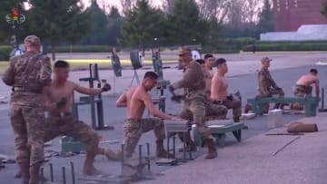 Footage from North Korea's Defense Development Exhibition