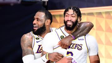 Los Lakers se coronaron campeones de la NBA en la burbuja de Orlando