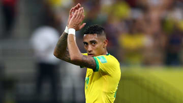Raphinha está no centro das atenções | Brazil v Uruguay - FIFA World Cup 2022 Qatar Qualifier