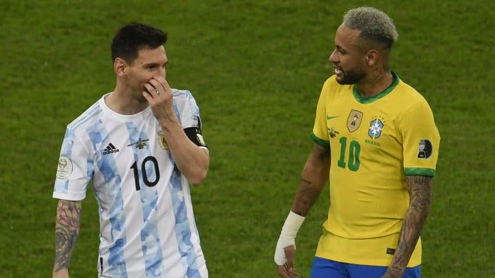 Messi e Neymar estão na lista | FBL-2021-COPA AMERICA-ARG-BRA