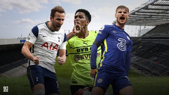 Kane, Sterling und Werner stehen auf Newcastles Liste
