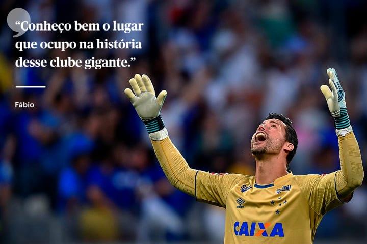 Fabio Cruzeiro goleiro defesa Flamengo